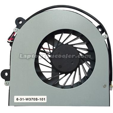 Clevo W350 fan