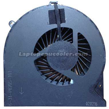 Clevo P870tm-g fan