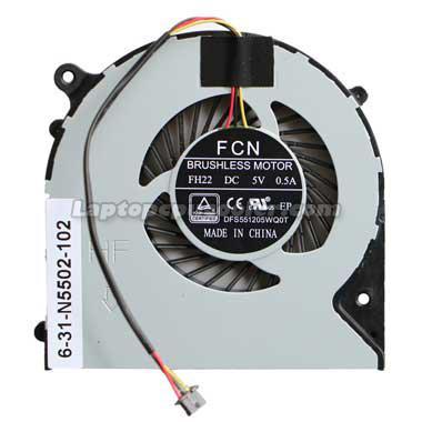 Clevo N850hk fan